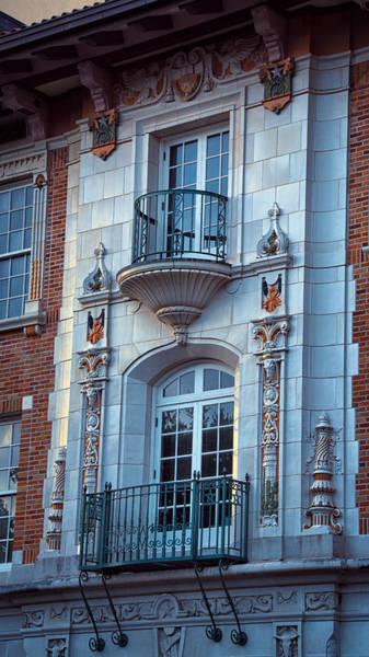 Photograph - Garrison Hall Window Ut by Joan Carroll