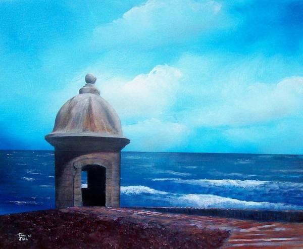 Painting - Garrita Del Diablo by Tony Rodriguez