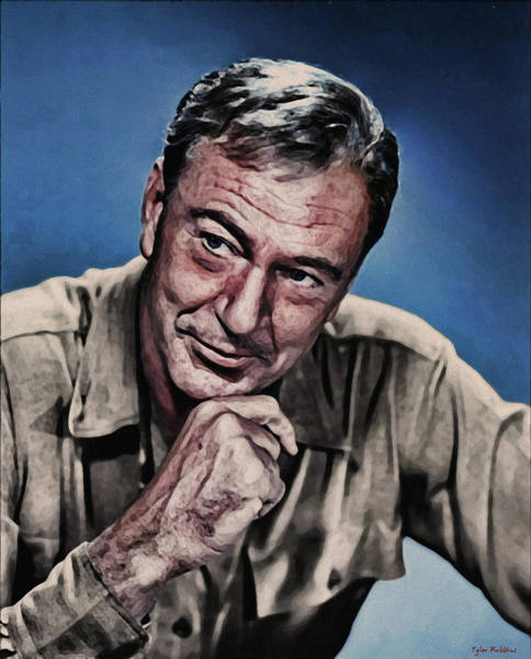 Painting - Gary Cooper by Tyler Robbins