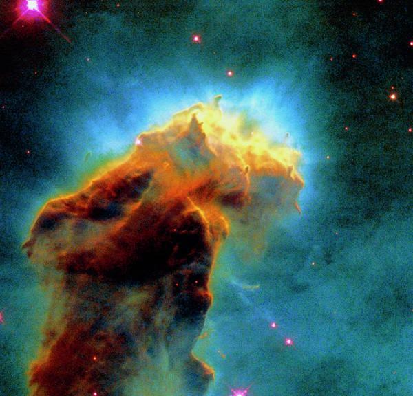 Wall Art - Photograph - Gas Pillars In The Eagle Nebula by Nasaesastscij.hester & P.scowen, Asu