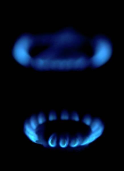 Gas Ring Art Print