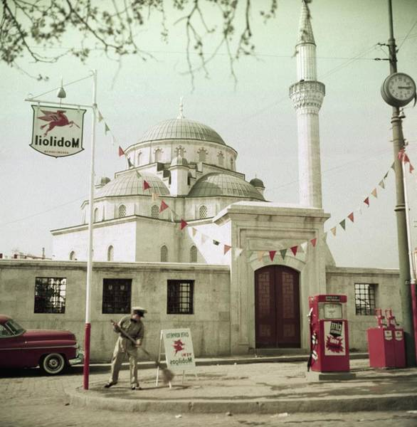 Gas Stations Photograph - Gas Station In Turkey by Horst P. Horst