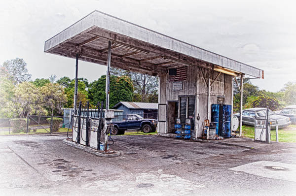 Photograph - Gasoline Station by Jim Thompson
