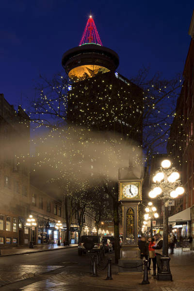 Photograph - Gastown At Five by Paul W Sharpe Aka Wizard of Wonders