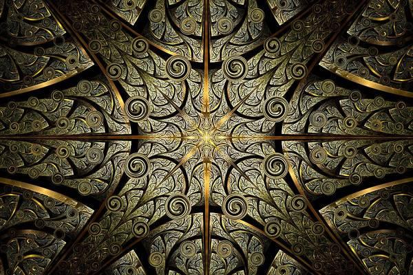 Work Of Art Digital Art - Gates Of Creation by Anastasiya Malakhova