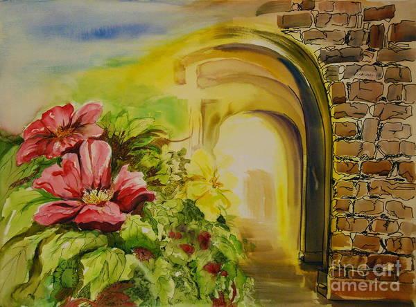 Genie Painting - Gates Of Glory by Genie Morgan