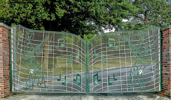Elvis Photograph - Gates To Graceland by Mountain Dreams