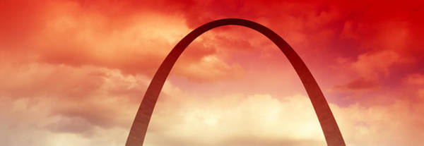 Wall Art - Photograph - Gateway Arch At Sunset, St. Louis by Panoramic Images