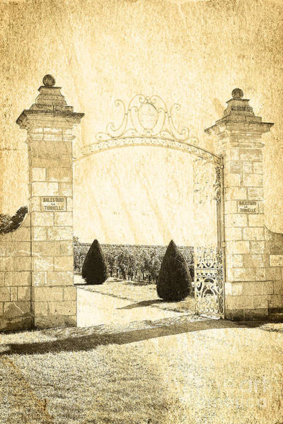 Photograph - Gateway Into The Garden by Heiko Koehrer-Wagner