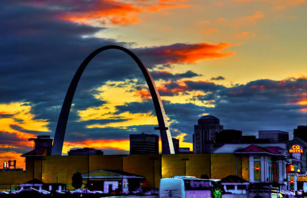 Photograph - Gateway Arch Of  St. Louis by Ginger Wakem
