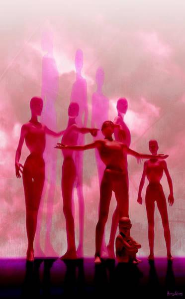 Digital Art - Gathering by Matt Lindley
