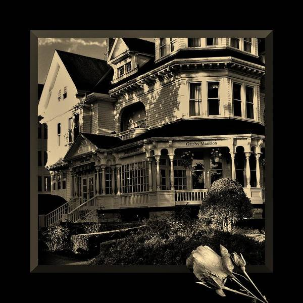 Photograph - Gatsby Mansion by Barbara St Jean