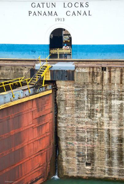 Photograph - Gatun Locks by Britt Runyon