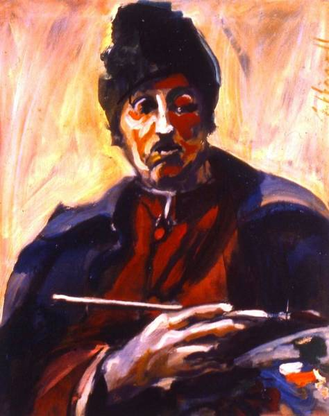 Painting - Gauguin by Les Leffingwell
