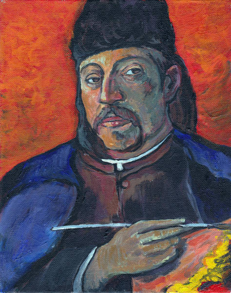 Painting - Gauguin by Tom Roderick