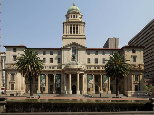 Johannesburg Wall Art - Photograph - Gauteng Provincial Legislature by Panoramic Images