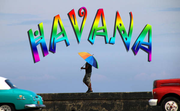 Photograph - Gay Havana by Andrew Fare