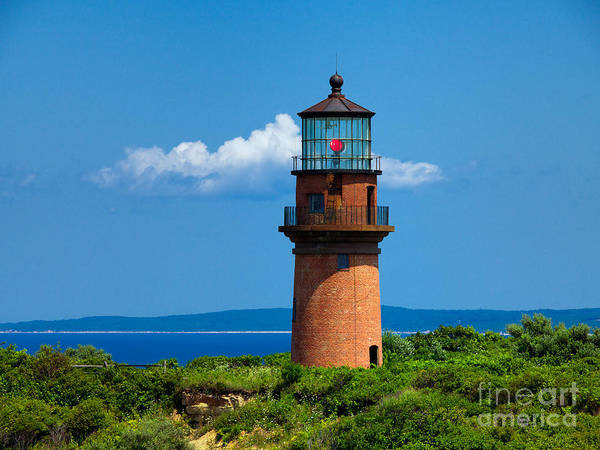 Photograph - Gay Head Light by Mark Miller