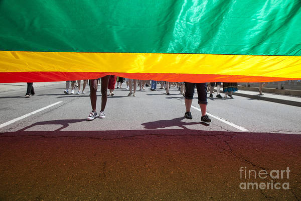 Photograph - Gay Pride Parade by Jim West