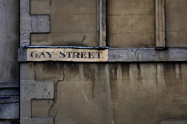 Gay Street Denise Dube Art Print