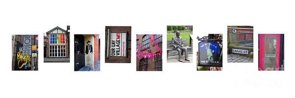 Alan Turing Wall Art - Photograph - Gay Village Manchester Uk by John Rogers