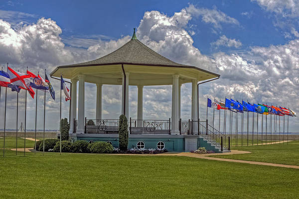 Photograph - Gazebo At Fort Monroe by Jerry Gammon