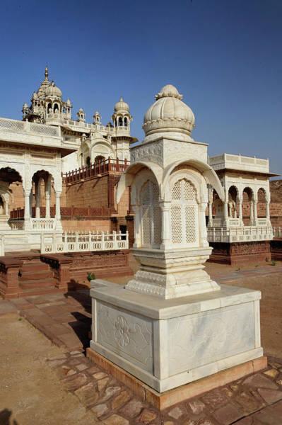 Singh Wall Art - Photograph - Gazebo At Jaswant Thada Mausoleum / by Adam Jones