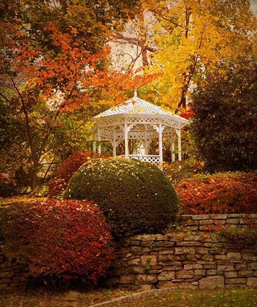 Gazebo Photograph - Gazebo Garden by Jessica Jenney