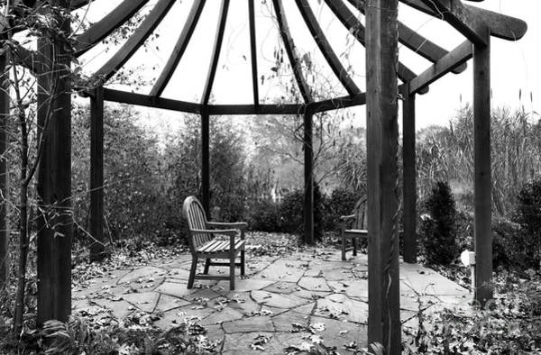 Photograph - Gazebo In Fall by John Rizzuto