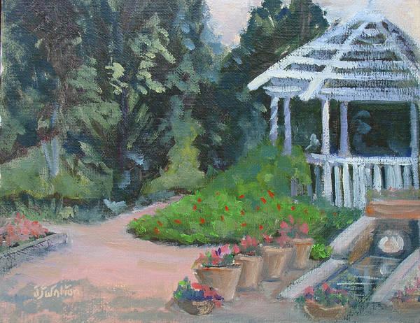 Painting - Gazebo by Judy Fischer Walton