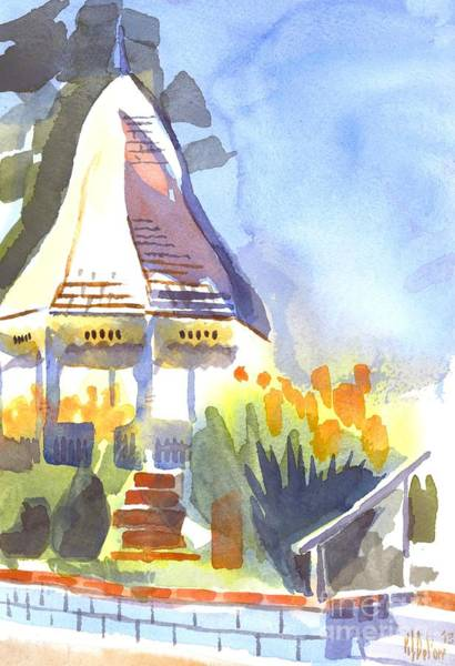 Painting - Gazebo On The City Square by Kip DeVore