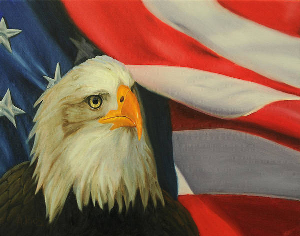 Eagle Eye Painting Gbamerica By Alex Rios