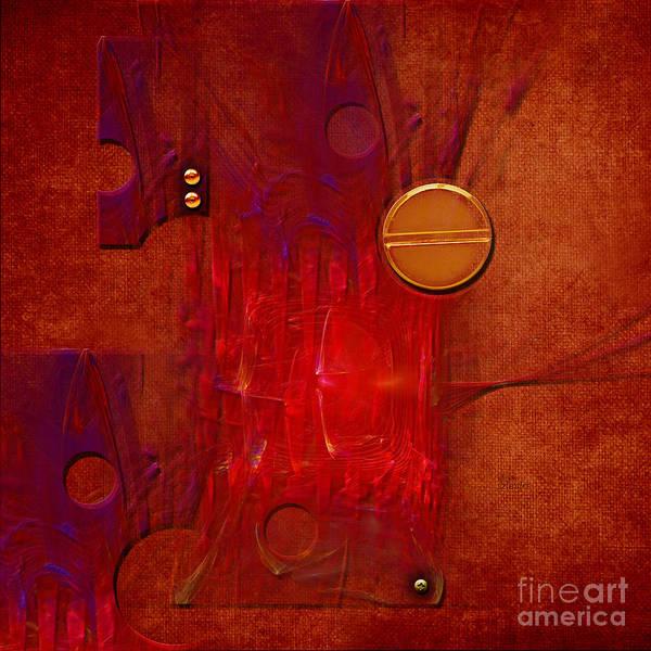 Digital Art - Gear by Alexa Szlavics