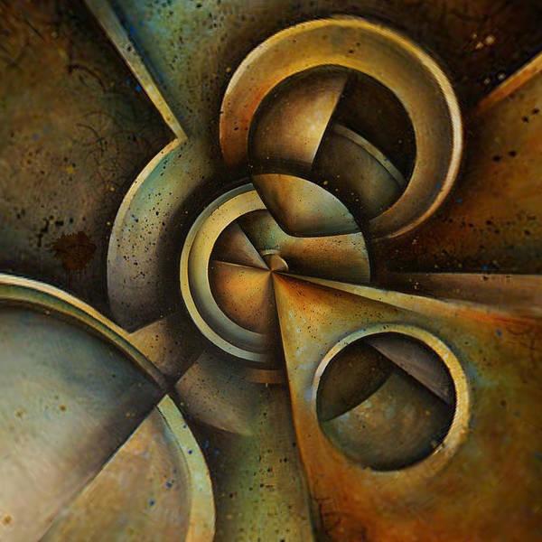 Digital Art - Geared Towards by Lisa Schwaberow
