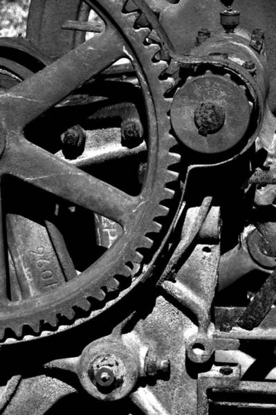 Photograph - Gears by Larry Bohlin