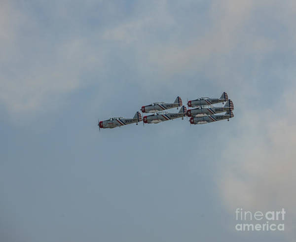 Photograph - Geico Precision Flyers by Dale Powell