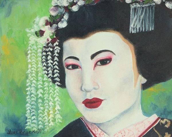 Painting - Geisha by Lori Brackett