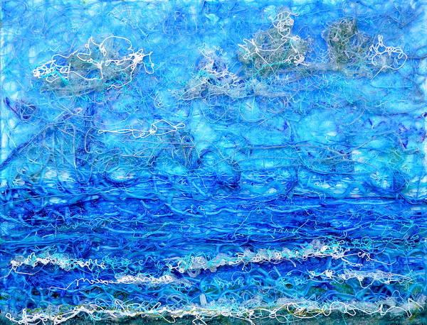 Painting - Gelid Seascape Revised by Regina Valluzzi