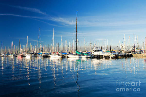 Photograph - Gem Pier Of Williamstown by Yew Kwang