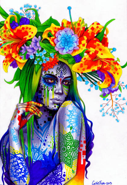 Wall Art - Painting - Gemini by Callie Fink