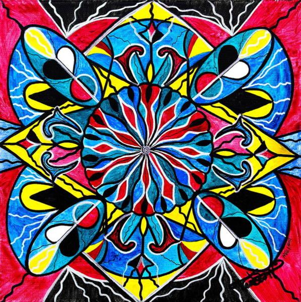 Allopathy Wall Art - Painting - Gemini by Teal Eye Print Store