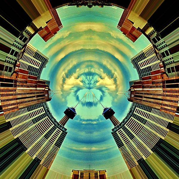 Aqua Tower Digital Art - Gemini by Wendy J St Christopher