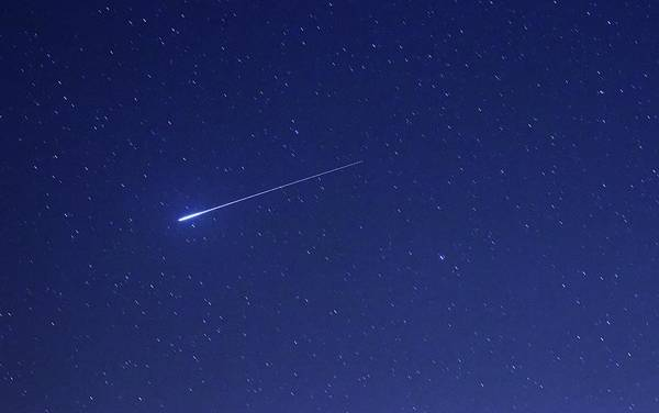 Star Track Wall Art - Photograph - Geminid Meteor by Luis Argerich