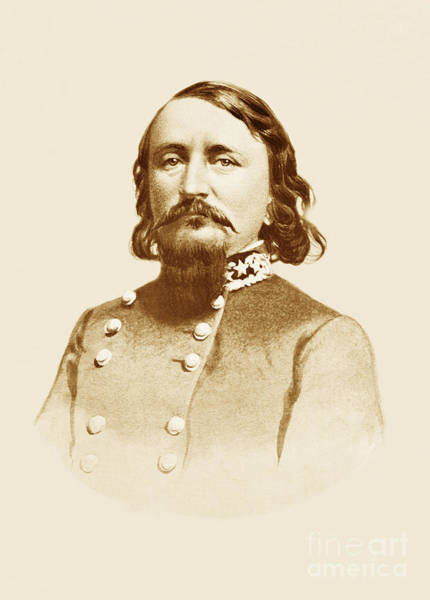 Photograph - Gen George E Pickett by Paul W Faust -  Impressions of Light