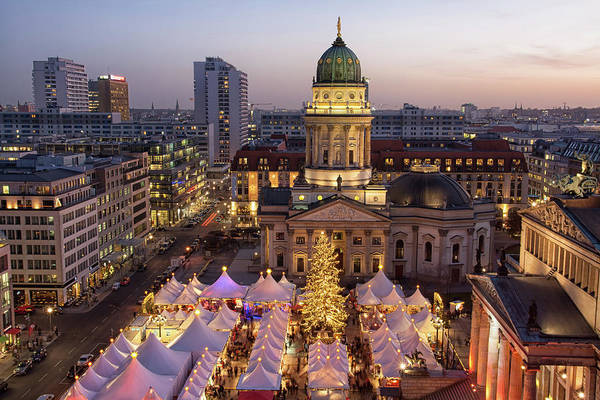 Berlin Cathedral Photograph - Gendarmenmarkt by Dado Daniela