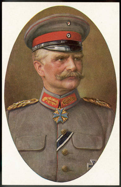 Wall Art - Drawing - General August Von Mackensen  German by Mary Evans Picture Library