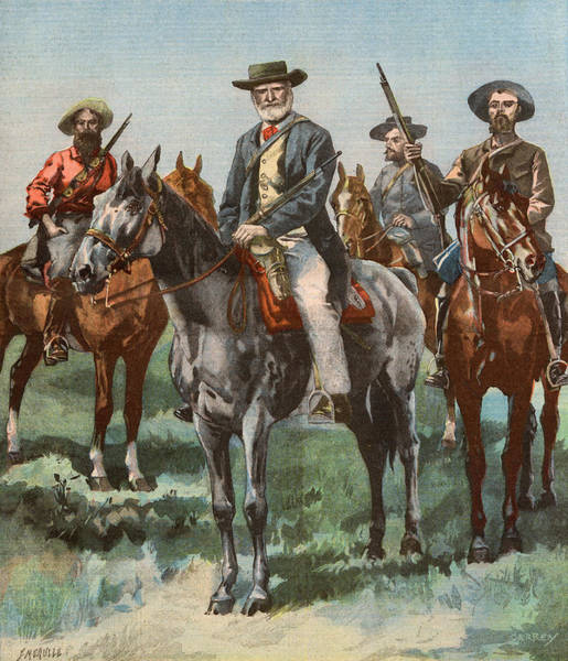 Wet Drawing - General De Wet (boer General, Rebel by Mary Evans Picture Library