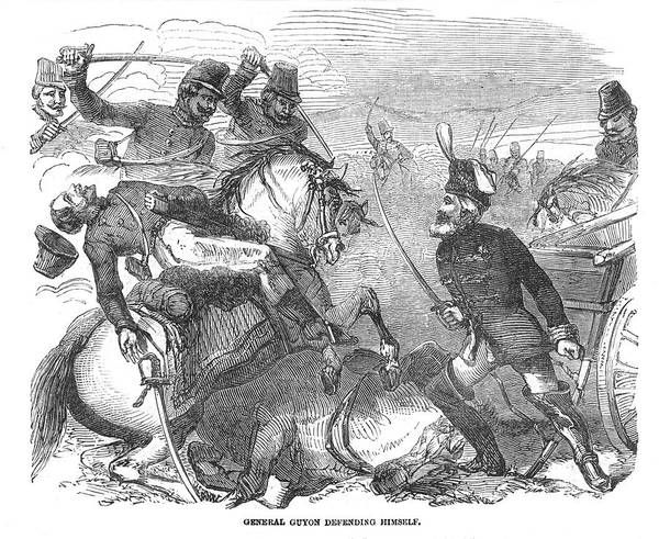 Wall Art - Drawing - General Guyon (british  Soldier) by  Illustrated London News Ltd/Mar