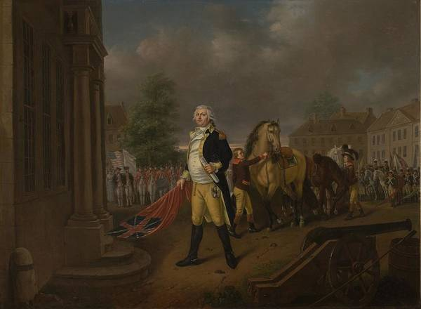 Victorious Painting - General Humphreys Delivering by Nicolas Louis Albert Delerive
