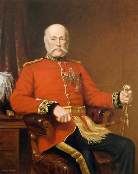 Seat Painting - General Joseph Edwin Thackwell Cb 1894 by J. Sydney Willis Hodges